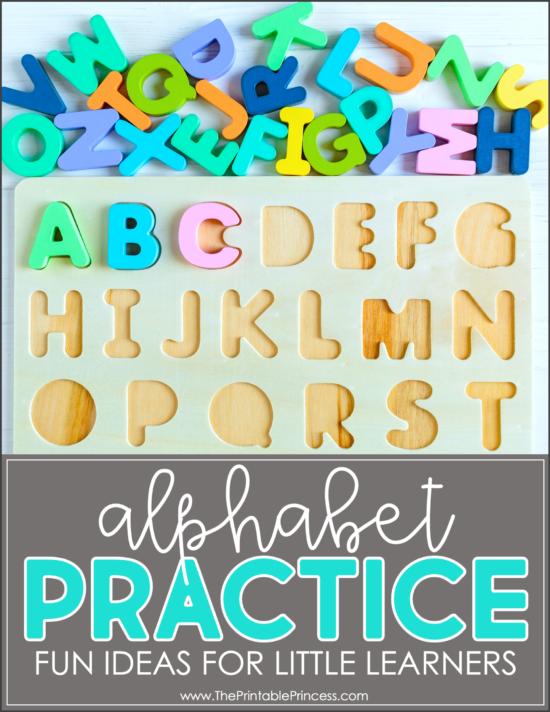 10 Fun Alphabet Practice Ideas for Kindergarten