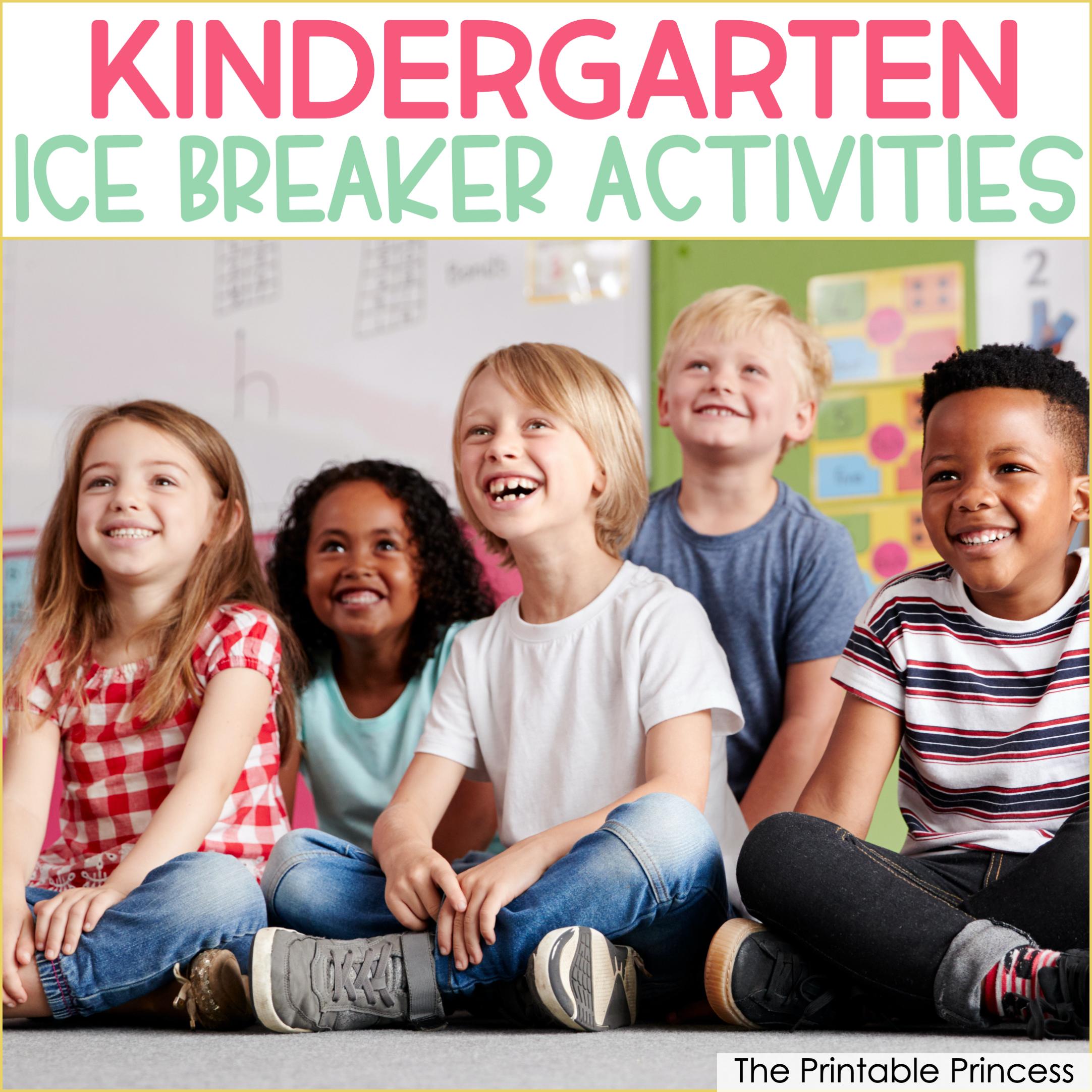12 Ice Breaker Games for Kindergarten