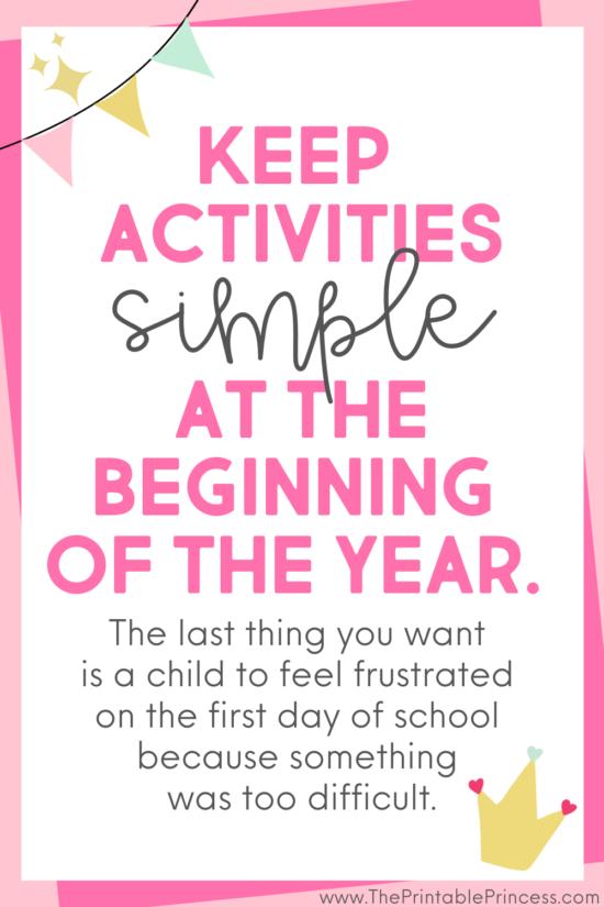 new Kindergarten teacher tips