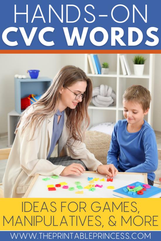 13 Manipulatives Every Kindergarten Teacher Needs to Teach CVC Words