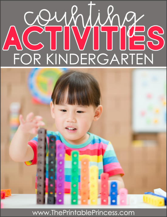 14 Counting Activities for Kindergarten