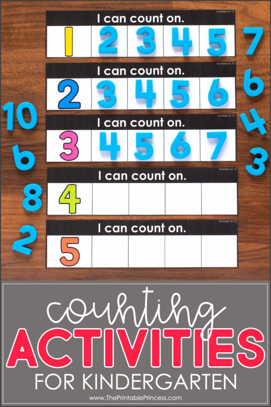 14 Counting Activities for Kindergarten Slide1 copy