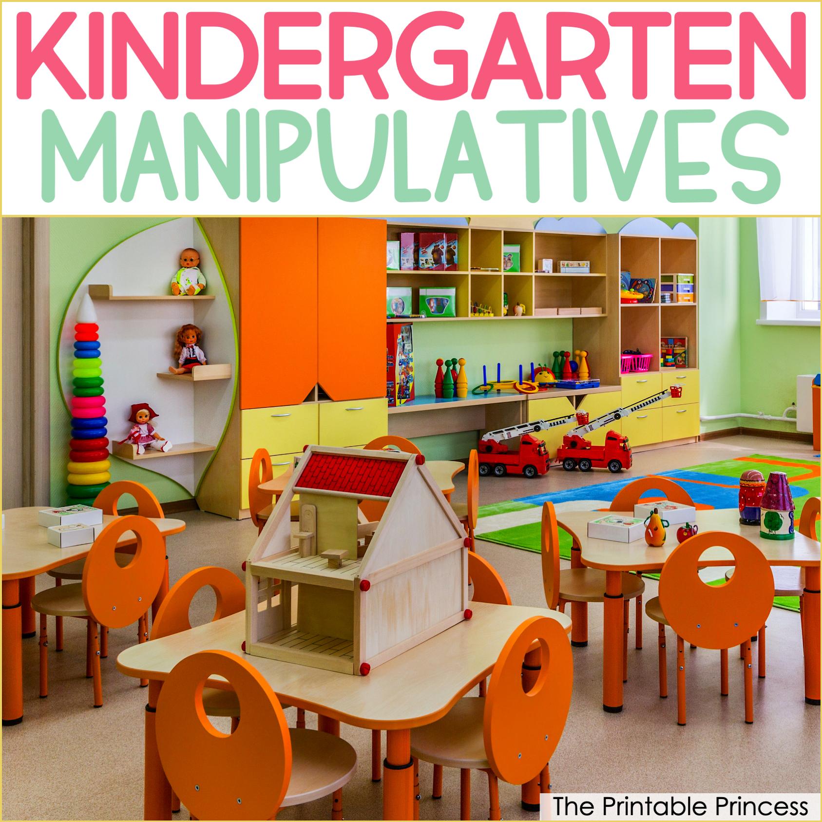 14 Must-Have Manipulatives for Kindergarten