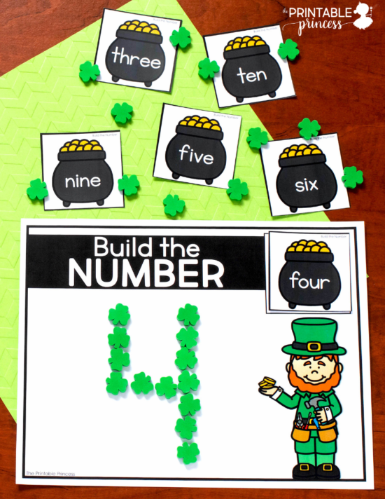 Stop by and check out these hands-on St. Patrick's day activities for Kindergarten. There's tons of engaging, hands-on activities to keep your kiddos learning the entire month of March. The activities are great for morning tubs, early finishers, or literacy and math centers. Best of all they were made just for Kindergarten - which means they are skills your little learners are working on during the month of March. While you're there, be sure to download your free copy of a fun game to practice numbers 11 - 20. Word families, numbers 100, CVC words, teen numbers, and MORE can all be found here!