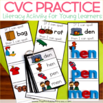 If I Can Spell…CVC Practice for Kindergarten