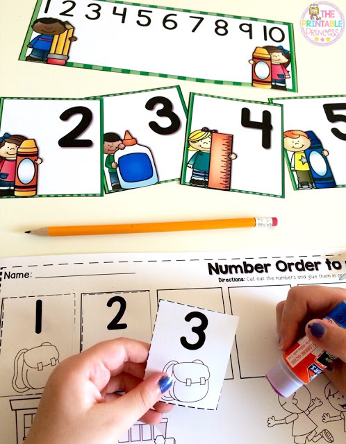 Every teacher needs some go to Kindergarten back to school centers to start the beginning of the school year off right! This blog post contains some great ideas to help you teach uppercase and lowercase letters, numbers 1-10, beginning sounds, word sorts, letter recognition, letter sounds, number order, numbers, shapes, find the missing number, and MORE! Your Kinder classroom or homeschool students will love the activities included. Plus there's a great FREE download too! Click through now!