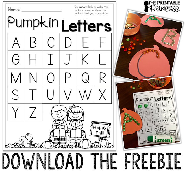Are you on the lookout for some great September, October, fall, Halloween, spider, or pumpkin ideas for your preschool, Kindergarten, or 1st grade students? Then you're going to love this post - Fall Fun for Kindergarten! You'll get loads of great ideas for hands-on math manipulatives to use for centers, counting resources, FREE downloads, great resources, and so much more! This blog post is FULL of great ideas that every primary elementary teacher and homeschool parent is going to love!