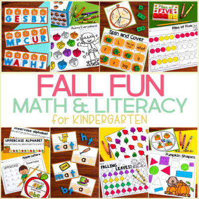Fall Fun for Kindergarten