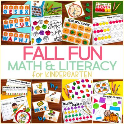 Fall Fun for Kindergarten