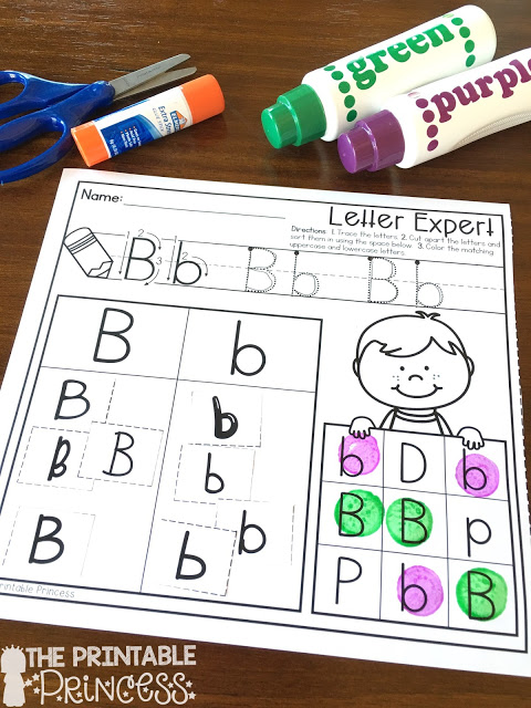 When you're looking for alphabet activities for Kindergarten, you're going to love this post! Great back to school alphabet and letter matching activities, letter mazes, alphabetical order, beginning sound practice, letter sorts, and more! Many of these resources can be used all year long - and they even work for your preschool students who are need of more challenge AND your 1st graders who need some remediation work. Click through now to grab your FREE download and check it all out!