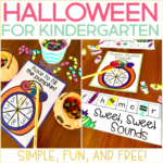 Halloween for Kindergarten {Simple, Fun, and Free!}