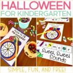 Halloween for Kindergarten {Simple, Fun, and Free!}