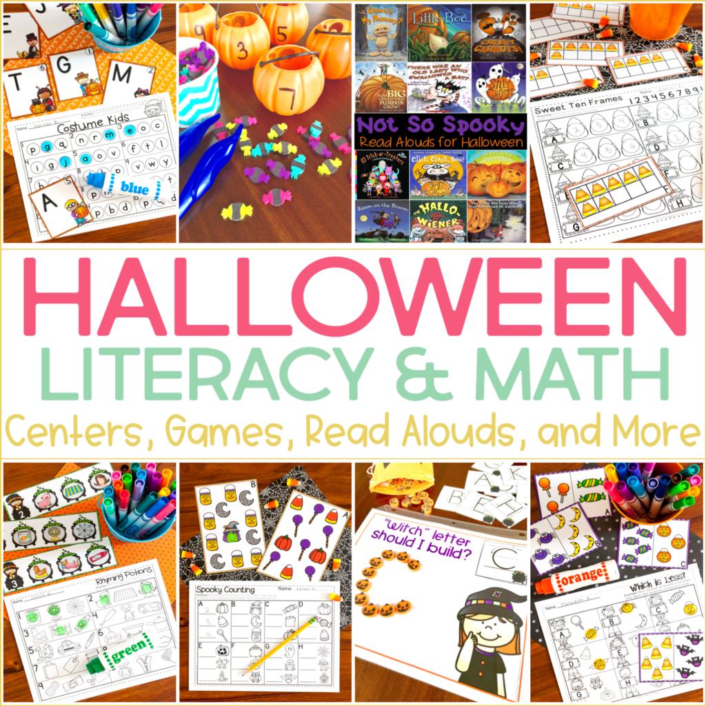 Halloween Activity Worksheets Kindergarten