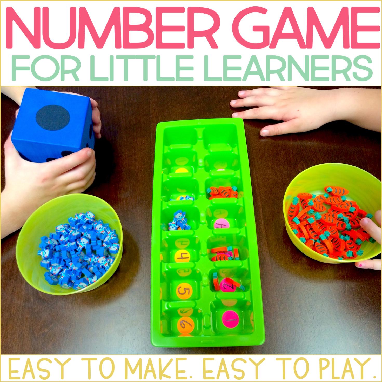Easy Number Game for Kindergarten