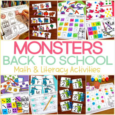 Back to School Monsters {Plus a Special FREEBIE!}