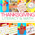 Thanksgiving Read Alouds, DIY Crafts, and Activities for Kindergarten