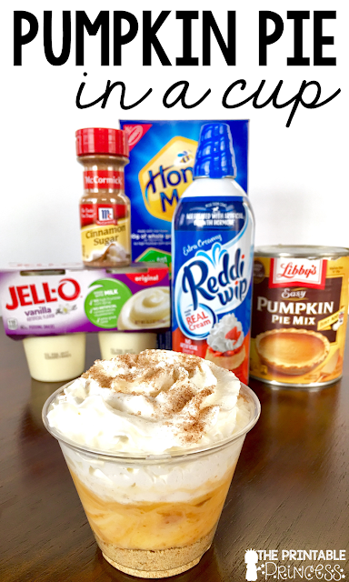 """You're going to love these Kindergarten Thanksgiving activities! Your students will work on sight words, counting, and even create pumpkin pie in a cup! {Grab your FREE recording sheet!!} While these are great for Kinders, your preschool, 1st, and 2nd grade classroom and homeschool students may enjoy these as well! You can use these fun pumpkin activities for math centers, literacy centers, spelling, & more! Plus make sure to check out the """"Tom the Turkey"""" poem and activities too!"""