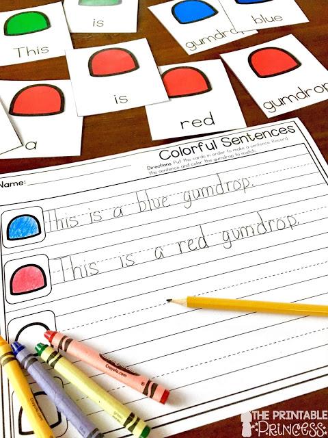 Gingerbread Activities for Kindergarten {Books, FREEBIE, and