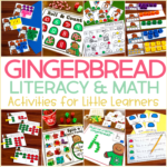 Gingerbread Activities for Kindergarten {Books, FREEBIE, and MORE!}