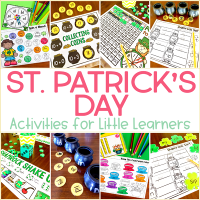 Leprechaun Activities for Kindergarten {with Freebies!!!}
