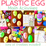 Easter Egg Math Activities for Kindergarten {Freebies Included!}
