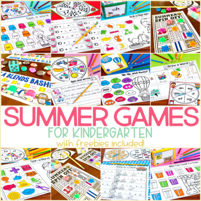 Summer Games and Activities for Kindergarten