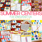 Summer Centers for Kindergarten