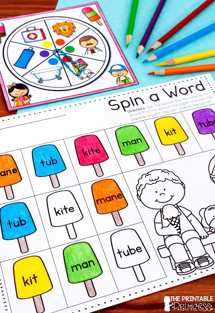 Looking for some summer games for Kindergarteners? These activities are sure to keep your students learning and engaged at the end of the year or during summer school. Check out the math and literacy freebies and ideas in this post. You'll find activities to keep your kiddos on task and having fun!