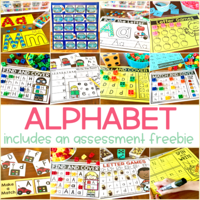 Letter Recognition and Alphabet Activities for Kindergarten