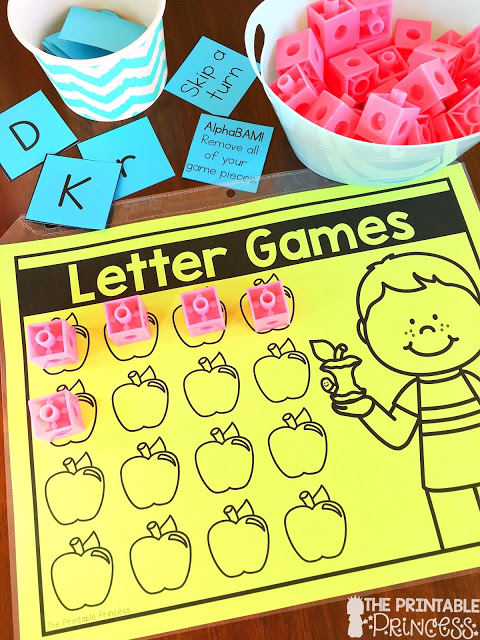 photograph relating to Letter Recognition Games Printable titled Letter Attractiveness and Alphabet Routines for Kindergarten