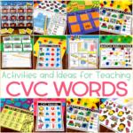 CVC Activities for Kindergarten {with an Exclusive Freebie}