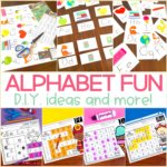 Alphabet Activities for Kindergarten – Letters, Mazes, & Lots of FUN!