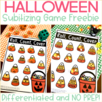 Halloween Counting and Subitizing Freebie