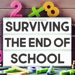 The last few weeks of school can be a crazy time. There's so much to get done and schedules often change. Student's are excited and behavior can be challenging. Here are some easy and practical tips, tricks, and ideas to help you with surviving the end of the school year!