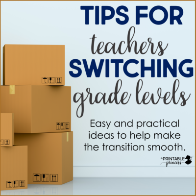 "You just heard those four words that most teachers dread: ""you're switching grade levels"". For some they love the challenge, for others it ignites fear. What do you do? Where do you start? Here's some tips for switching grade levels that will help the entire process be a positive experience."