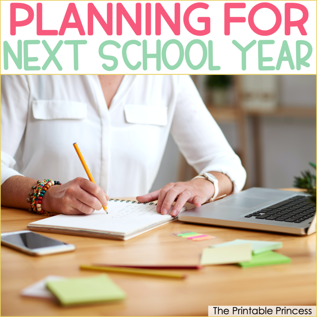 4 Tips for Planning Ahead for Next School Year