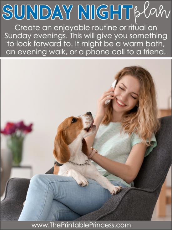 5 Tips to Beat the Sunday Night Blues