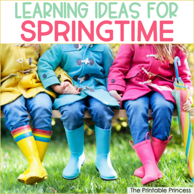 7 Spring Learning Ideas for Kindergarten