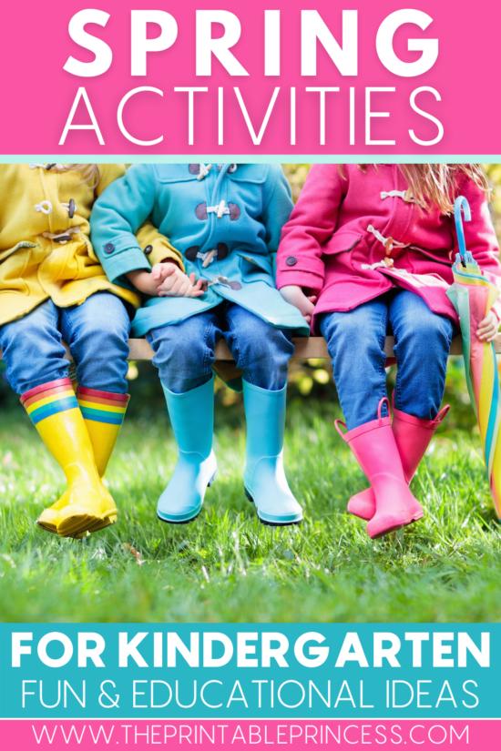 7 Spring Learning Ideas for Kindergarten
