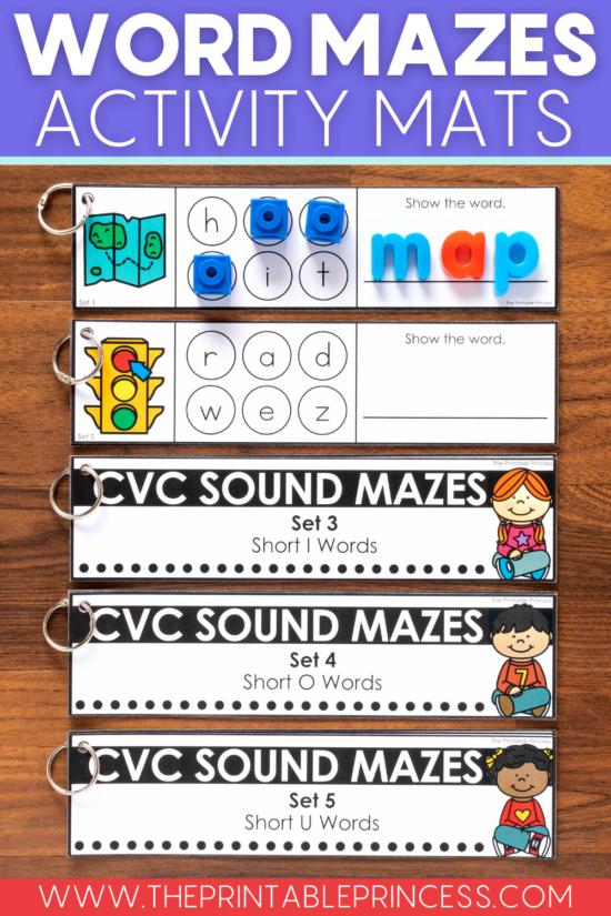 CVC sound mazes