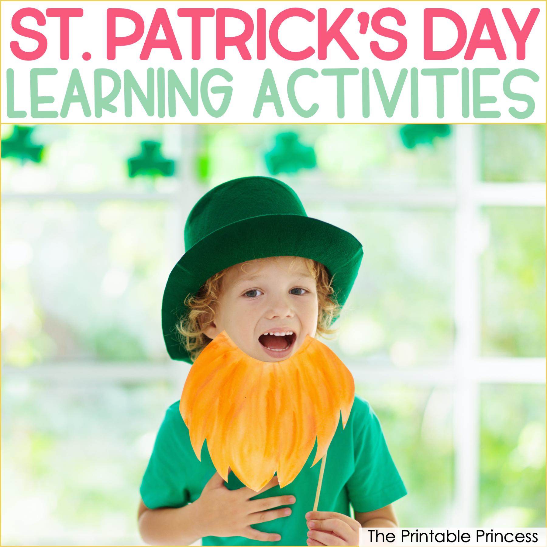 8 St. Patrick's Day Ideas for Kindergarten