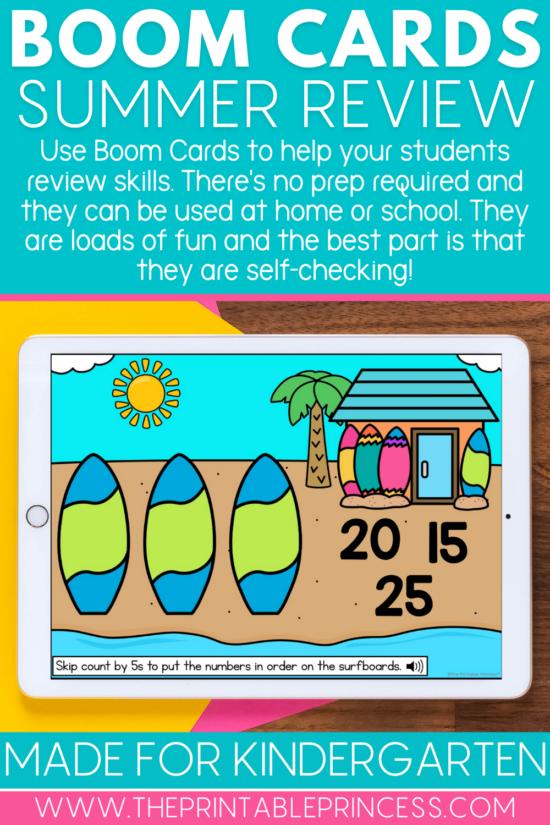 Summer Boom Cards