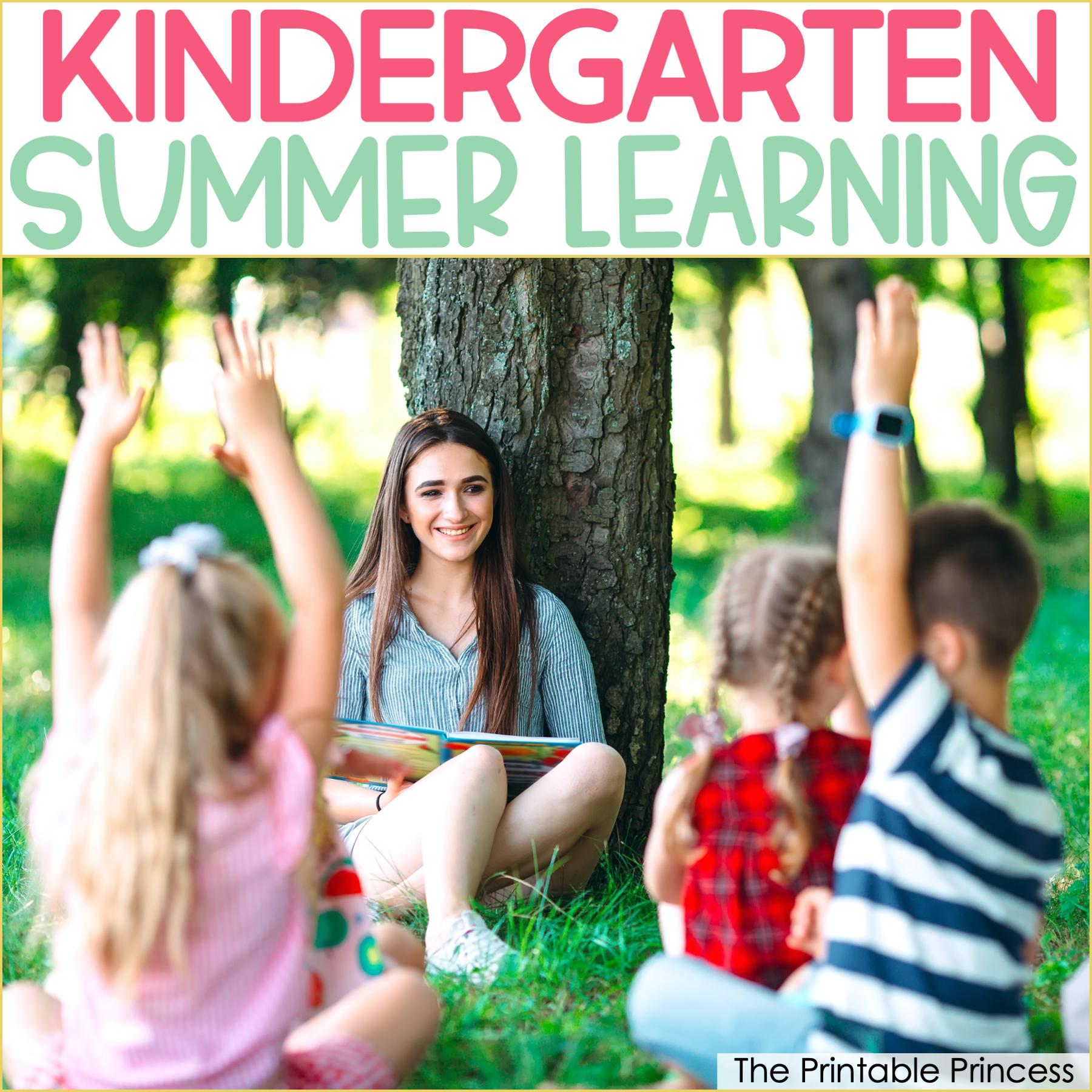 8 Summer Activities for Kindergarten