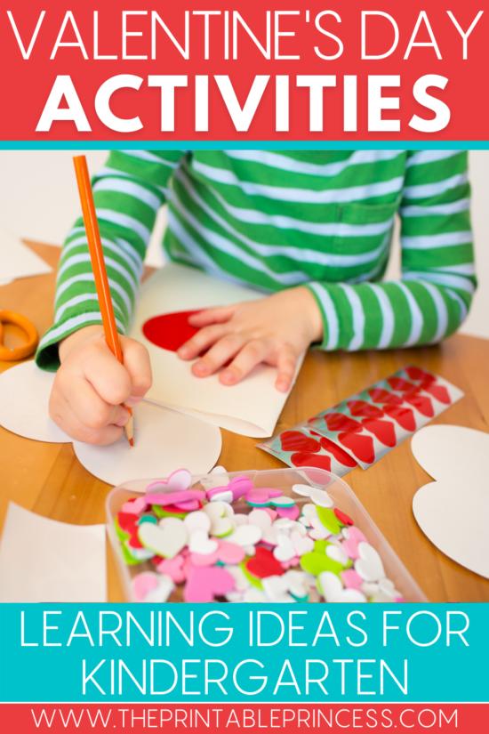 8 Valentine's Day Ideas for Kindergarten