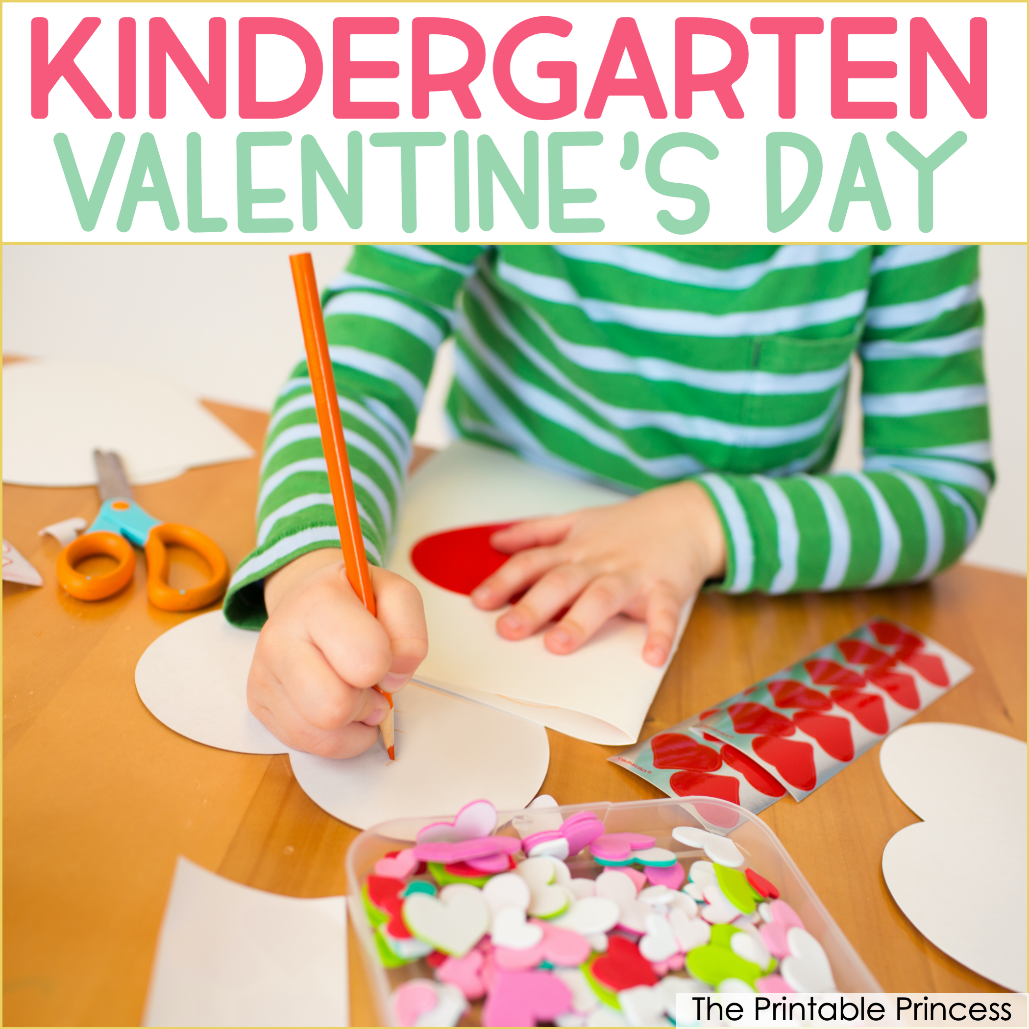 8 Valentine's Day Ideas for Kindergarten