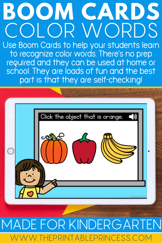 Color Boom Cards