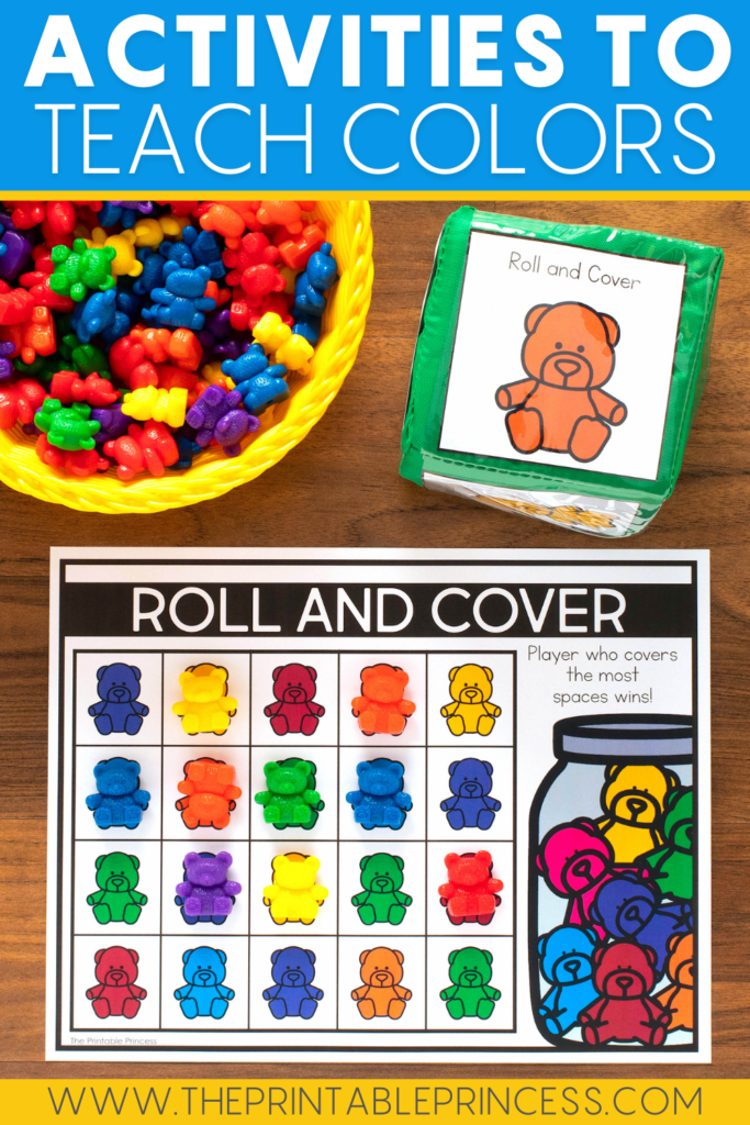 Roll and Cover Color Activity