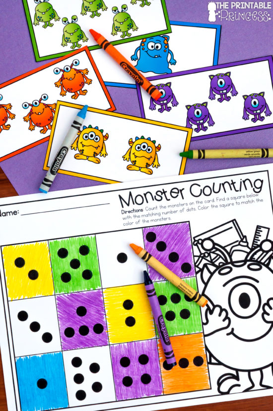 Back To School Monsters Plus A Special Freebie