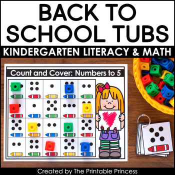 back to school morning tubs