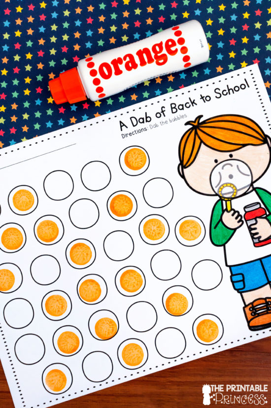 The benefits of using bingo dabbers in the classroom